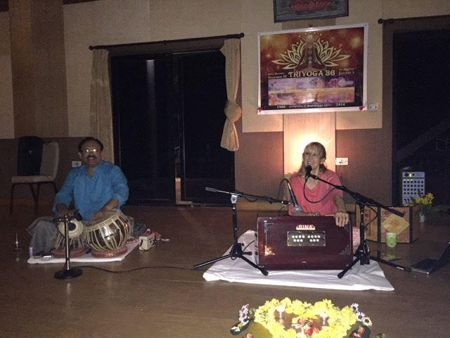 Chanting with Kaliji and Prasann