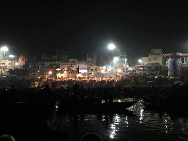 Arati on Varanasi Ghats