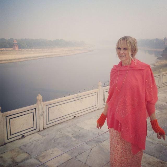 Yamuna River at Taj Mahal