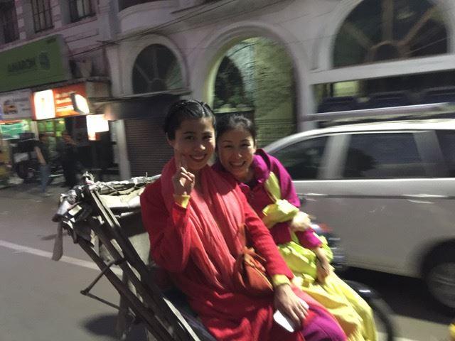 Rickshaw ride through Varanasi