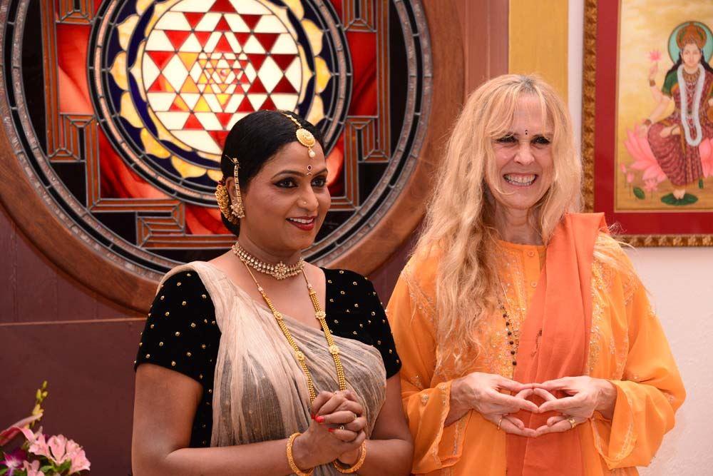Nirmala with Yogini Kaliji