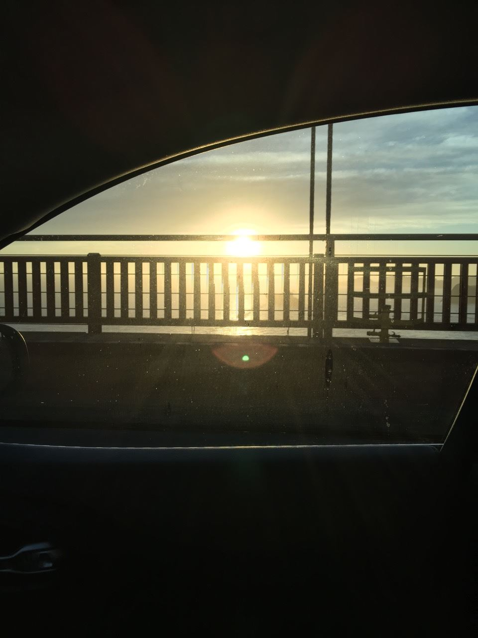 Sunset from Golden Gate Bridge
