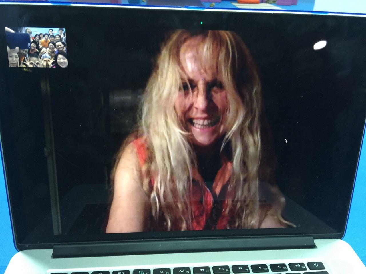 Skype with Yogini Kaliji