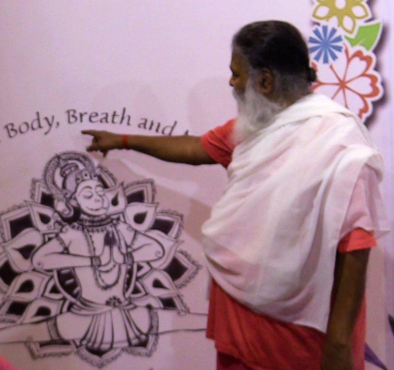 TY Hanuman drawing