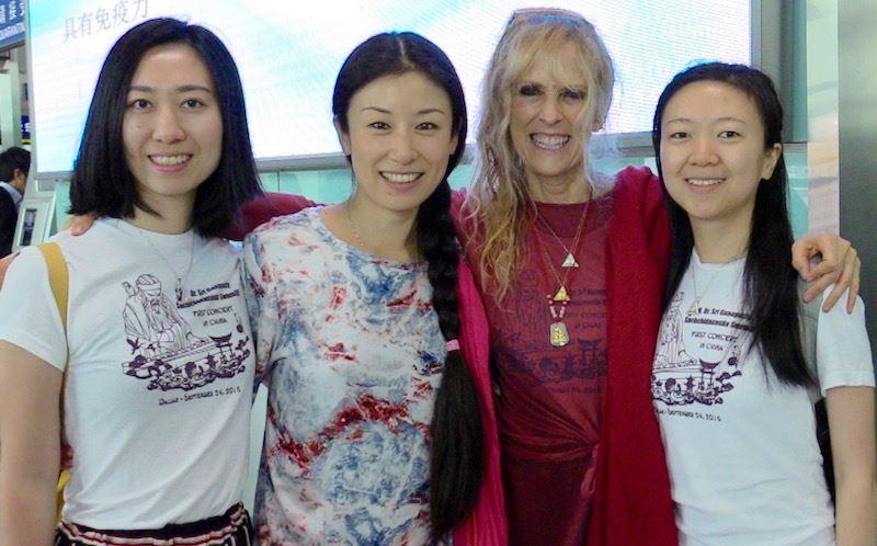 with translators