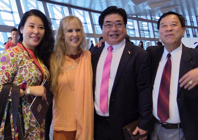 with Zhao Zheng, his wife and Yong Lu