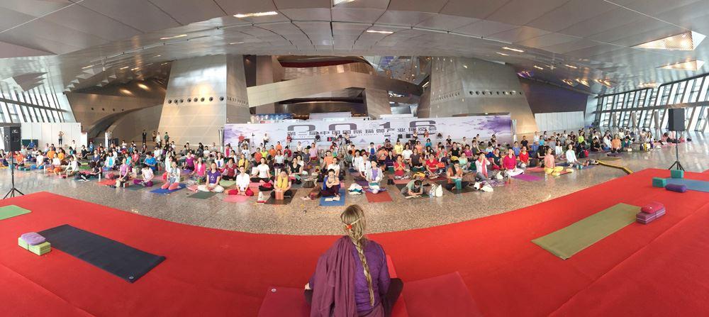 Yogini Kaliji presents at Conference