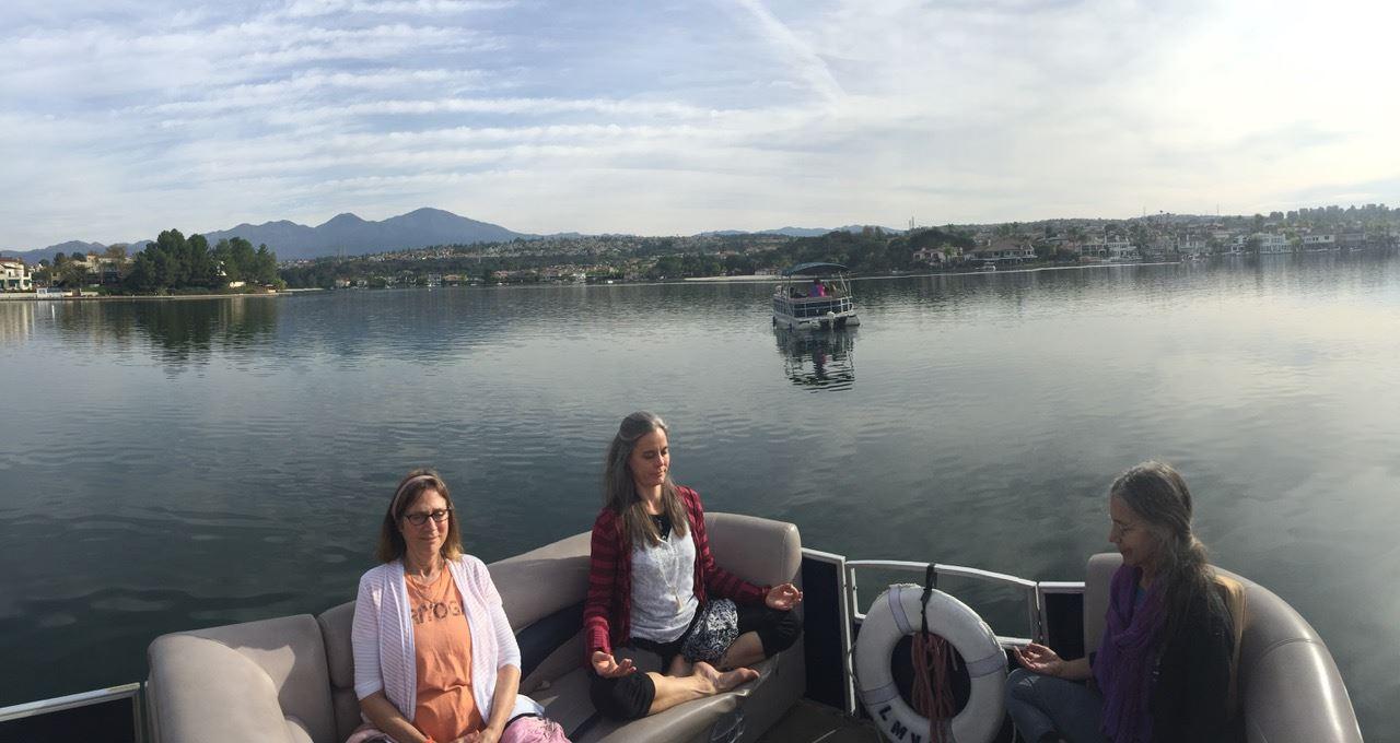 Prana Vidya on boats
