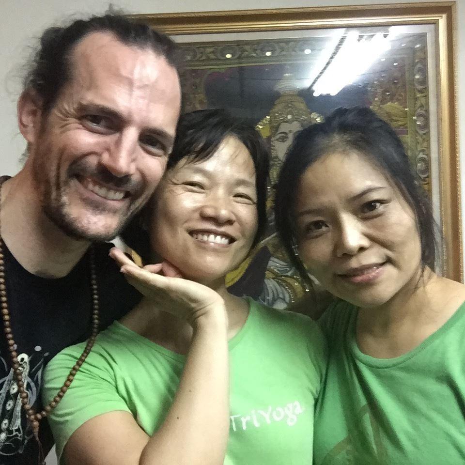 Rishi, Julia, Chen Jie