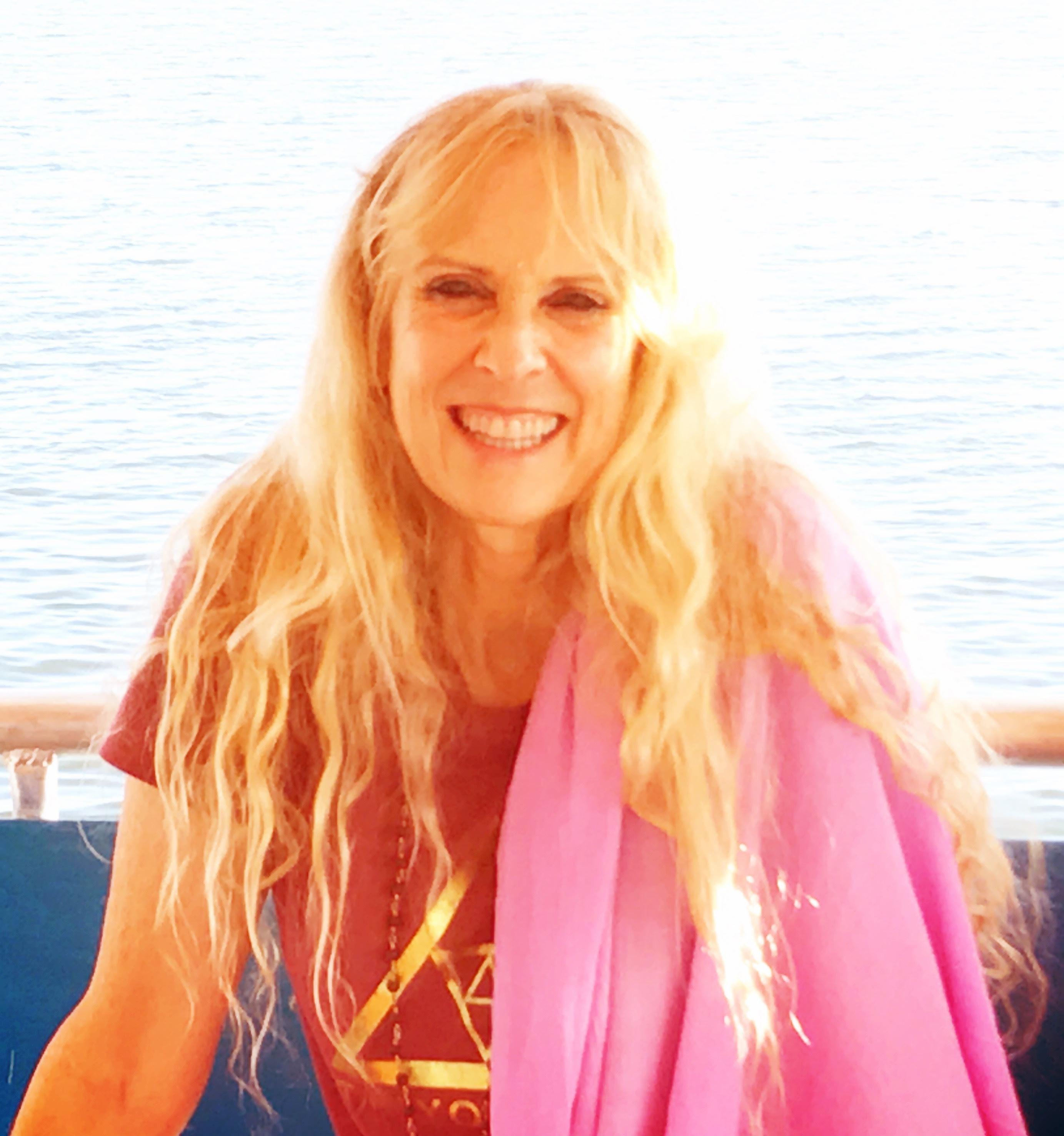 Yogini Kaliji on boat
