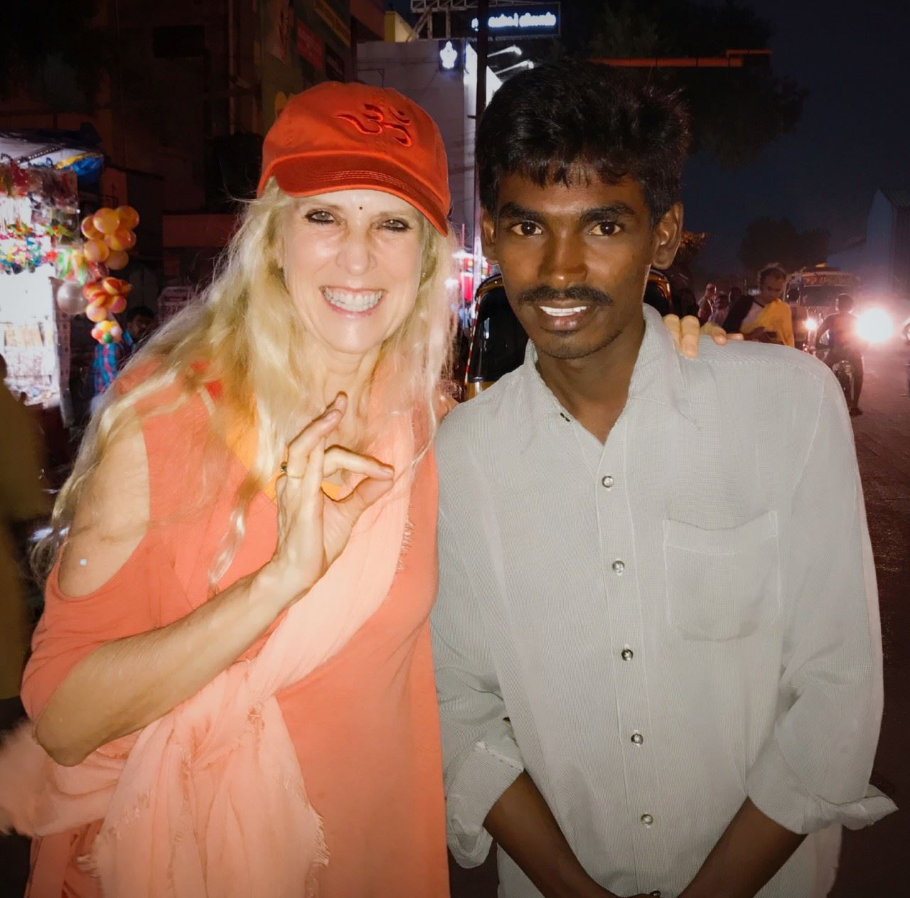 Tour Guide R.Madhavan with Yogini Kaliji