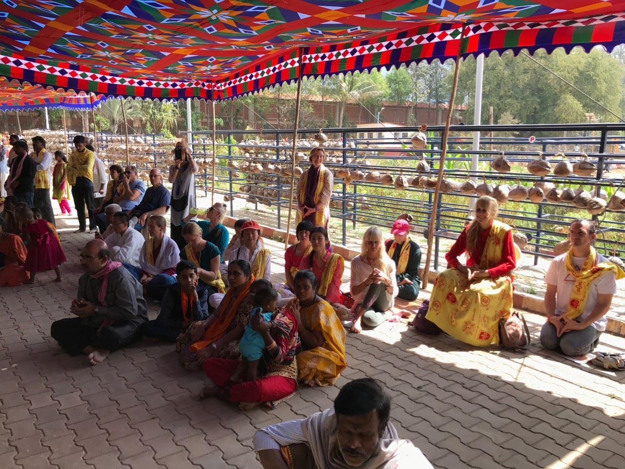 Hanuman Temple at Datta Peetham