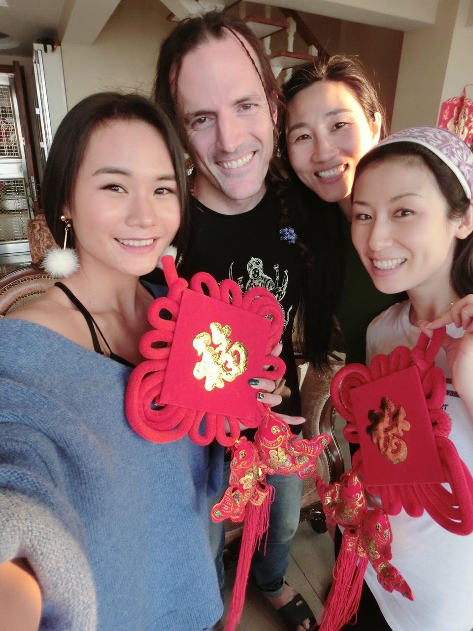 Noodle, Rishi, Ma Xin Mei, Kiki