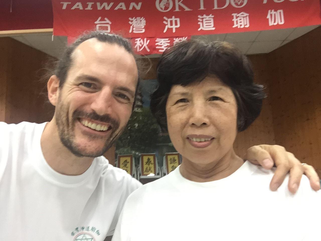 TriYoga Teacher Xiu Feng