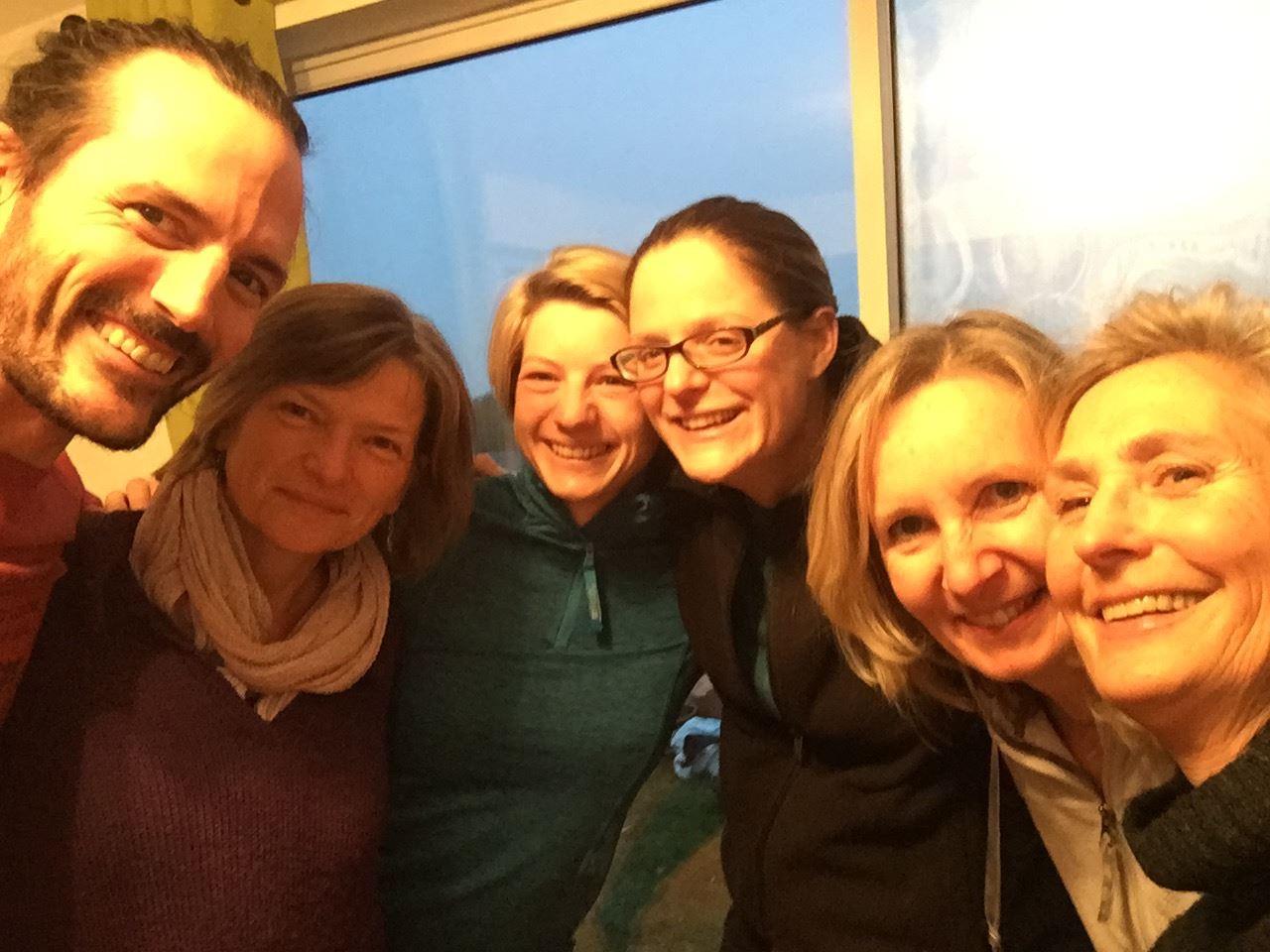 Level 1 Group: Sarah, Naomi, Jen, Jackie, Wanna