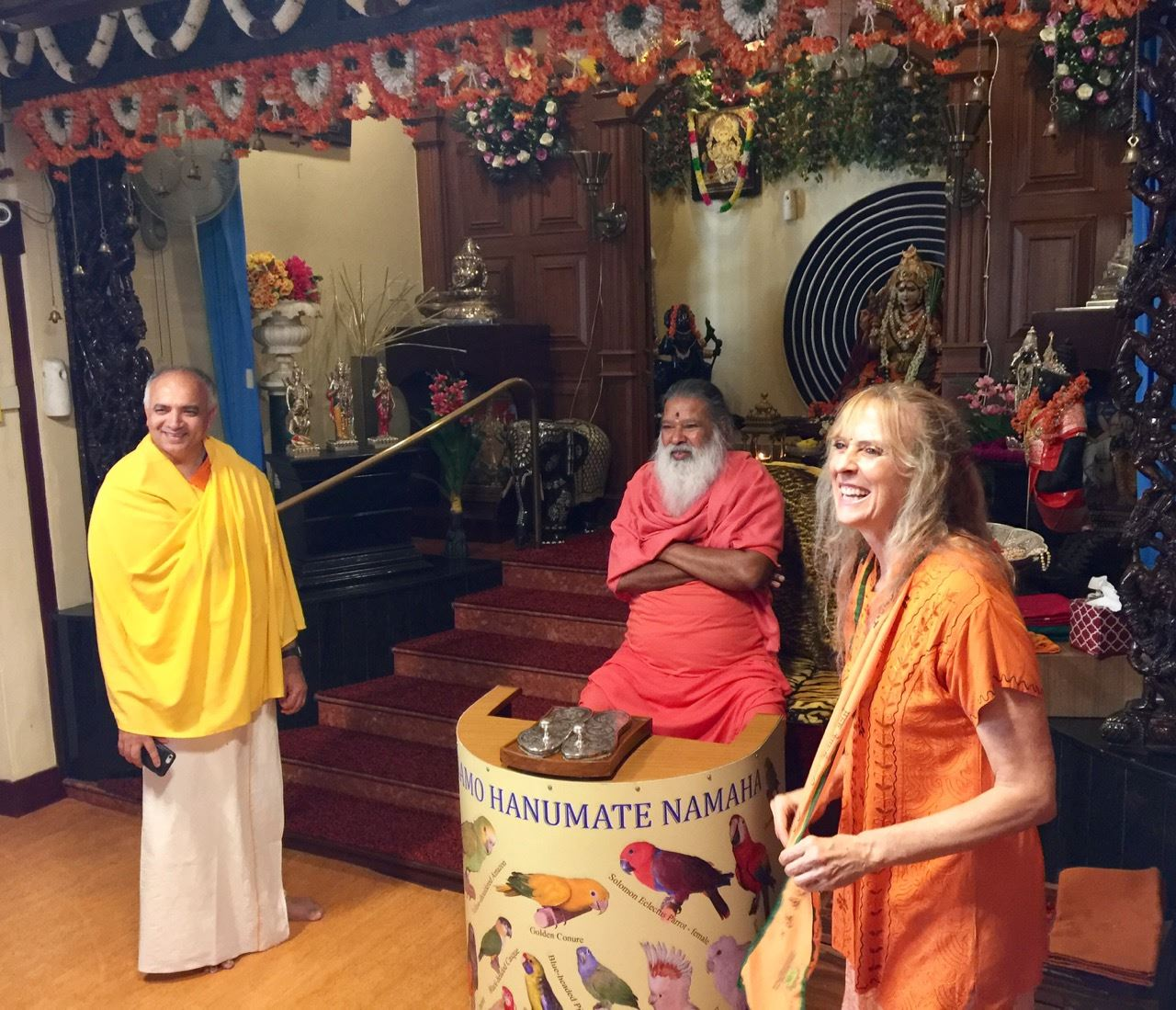 Darshana with Sri Swamiji
