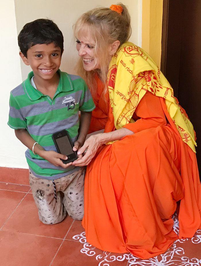 Adi, son of Shreedhar and Nalini