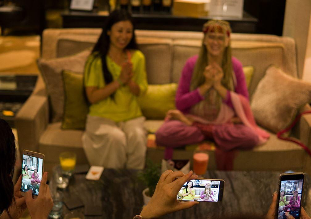 Kaliji delivers video message