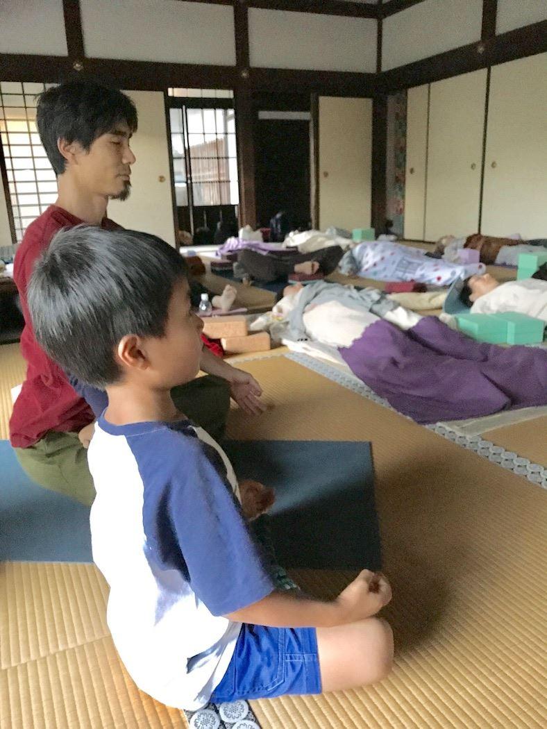 TriYoga_class_Toshi_kid_Yoganidra