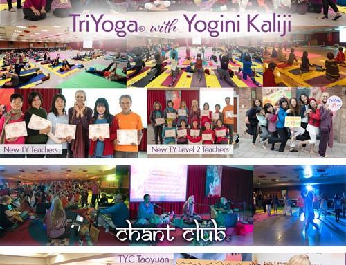 TriYoga and Chant Club in Taipei, Taiwan