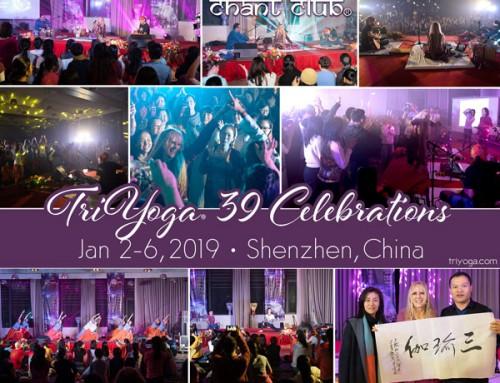 TriYoga 39 and Chant Club in Shenzhen, China