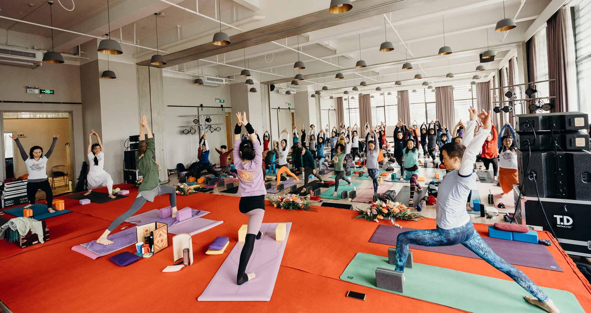 TriYoga Class, Yoga Asana