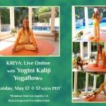 KRIYA Live Online with Kaliji