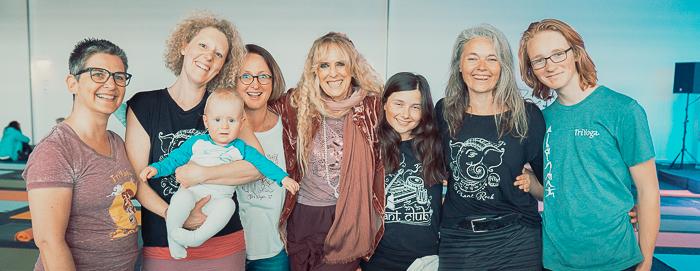 Jutta, Kathrin & Benjamin, Sibylle, Sophie, Tina, Johannes