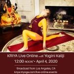 Yogaflow Live Online with Kaliji
