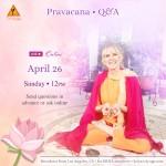 Pravacana • Q&A with Kaliji