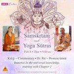 Sanskrit and Yoga Sutras