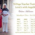 Level 3 TYTT with Angelika ~ Aug '21–Dec '22