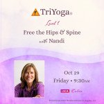 Free the Hips & Spine with Nandi